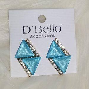 🌺jewelry 3 for $18 aqua color earrings